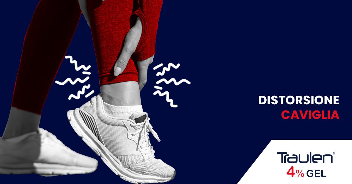 distorsione caviglia - Traulen