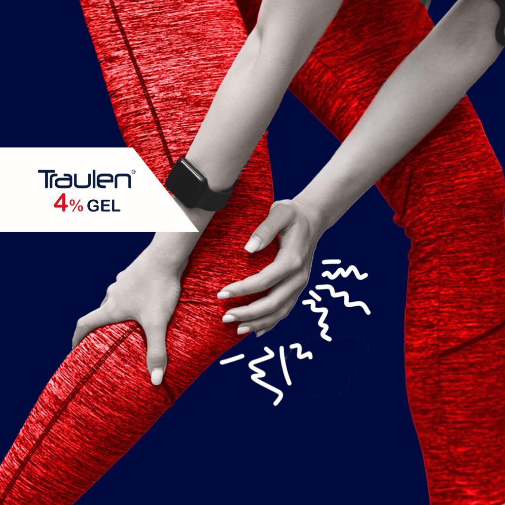 distorsione ginocchio - Traulen