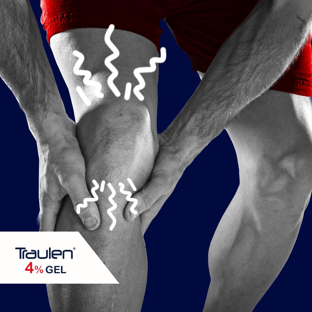 dolore al ginocchio - Traulen